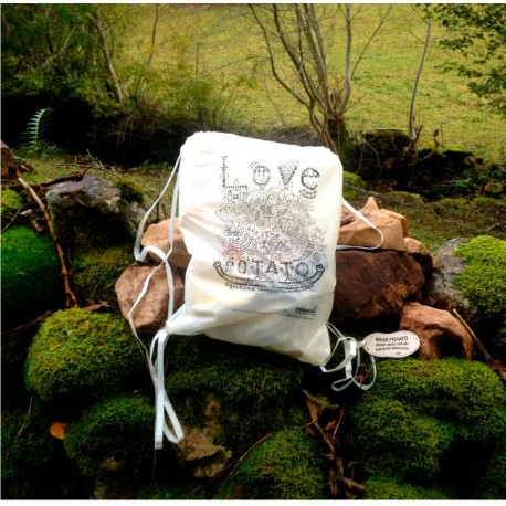 """""""LOVE POTATO"""" Backpack by Mario"""