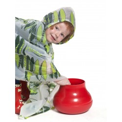 """GARDEN"" CAPE FOR KIDS WITH ORGANIC SEEDS"